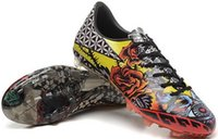 Wholesale Love Tattoos - The top F50 tattoo love and hate Popular FG Sneakers Soccer Training Shoes,2015 man Outdoor CR7 Sneakers Running Shoes,cheap Football Boots