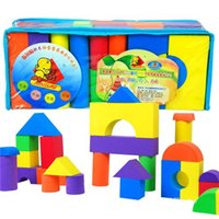 Wholesale Children Toys Foam Blocks Children Toys Hot Girl Sponge Foam Blocks Fashion Colorful and EVA Foam Blocks Pieces