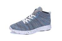 Wholesale Sheos Man - free shipping 2016 knit trainer chukka male sports weaven sheos men running shoes