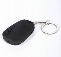 Wholesale Mini Keychain Digital Camera - High Quality 1280*960 resolution Mini car key camera 808 keychain digital cam DVR WebCam Mini Memory Disk Camcorder Video Recorder