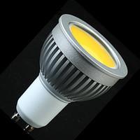 Wholesale E27 Spotlight Lm - COB 5W GU10 Led Spot Light Bulb 500 LM Cool Warm White Led Downlight Lamp 110-240V