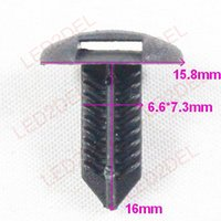 Wholesale Wholesale Snap Clips Covers - 1230 Plastic Trunk Luggage Covers Compartment Panel Retainer Clips snaps Fastener Rivet For Lexus Honda Toyota Car styling