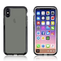 Wholesale Shockproof Silicone Case Cover - For iPhone X Clear Case Heavy Duty Shockproof Protective Cover Skin for iPhone 8 8 Plus 7 6 6s Samsung S8 NOTE 8