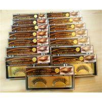 Wholesale Black J - 3D Mink Hair False eyelashes 15 Styles Handmade Beauty Thick Long Soft Mink Lashes Fake Eye Lashes Eyelash 3001081