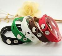 Wholesale korean women sport set - 50pcs Women Mens Twisted Leather Bracelet Antique Vintage Charm Bracelets PU Braided Wristbands Korean Punk Bracelet jewelry Christmas Gift