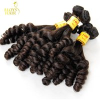 Wholesale Malaysian Hair Spring Curl - Aunty Funmi Hair Extensions Bouncy Romance Egg Spring Curls Grade 7A Unprocessed Virgin Malaysian Loose Curly Human Hair Weave 3 4 Pcs Lot