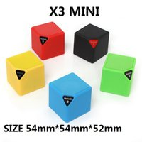 Wholesale portable x3 mini bluetooth speaker - X3 X3 MINI Bluetooth Speaker Fashion Style TF USB Wireless Portable Music Sound Box Subwoofer Loudspeakers with Mic 20PCS LOT