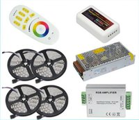 SMD 5050 best wireless lights - 1set best quality M RGB LED Strip Light Leds M Flexible Led Ribbon Tape Wireless Touch Remote Controller A Amplifier A Power