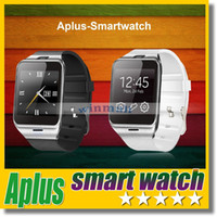 Wholesale Unlocked Quad Band Smart - GV18 Aplus Smart Watch Phone with Camera NFC Unlocked Micro SIM card Slot Quad Band Bluetooth Gear 2 For Andriod Phone SAMSUNG
