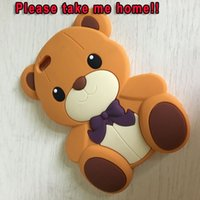 Para Apple Ipod Touch 5 6 Touch6 Iphone 5 5S 5º 3D Bear Teddy Soft Silicona GEL Phone Case Rilakkuma Cute lindo piel de dibujos animados de lujo