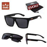 Wholesale Cycle Sunglasses Men Large - 2014 New EVOKE Afroreggae Sunglasses Large Frame Retro Sunglasses Casual Cycling Outdoor Sports Board Sunglasses Eyeglasses