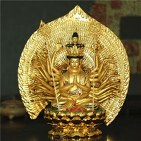 Wholesale Resin Decoration Guanyin Buddha Avalokitesvara cm Decoration Thousand Buddha Guanyin Crafts