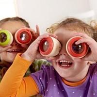 jouets éducatifs pour bébé années achat en gros de-Kaleidoscope En Bois Jouets Kaleidoscope Manufuntional Éducatifs En Bois Jouets Magique En Bois Bébé Polygone Prisme Enfants Jouets Pour 3-7 Ans