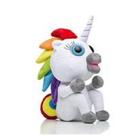 Wholesale Funny Baby Sounds - Finger Funny Gigi Unicorn Electronic Smart Touch Fingers Electronic Pets New Interactive Baby Unicorn Finger Toy Party Christmas Gift DHL