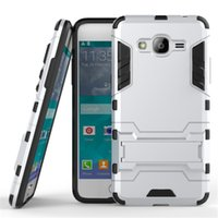 Iron Man Rugged Armor Heavy Duty Hybrid TPU + Custodia PC per Samsung Galaxy J1 J2 J3 J5 J7 max pro 2016 2017 EU USA ON5 ON7