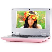 Новый 7-дюймовый Android-ноутбук Netbook Mini Laptop VIA8880 Dual Core Android 4.4.2 Wifi 1G RAM 8G HDD HDMI Netbook X5pcs