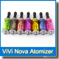 Ecigs Punta plástica Vivi Nova set 3.5ml Clearomizer desmontable Atomizador VS mini vivi nova con 2 bobinas de cabeza Precio al por mayor