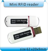 lector inteligente al por mayor-2015 Newset MIni USB RFID 13.56MHZ IC Lector de tarjetas inteligentes de proximidad sin contacto compatible con Windows / Android / I-paid + 10pcs tarjetas