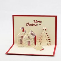 3d christmas invitation card nz buy new 3d christmas invitation 3d christmas greeting cards handmade creative christmas xmas party invitations greeting cards tree paper festival gifts stopboris Image collections