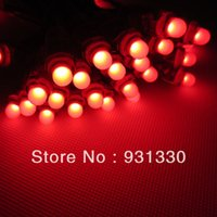 Gros-100pcs 12mm RGB Module Lumière IP68 LED Pour DIY Display Advertising Board 5V NO IC