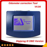 Wholesale volvo unit - 2016 Newest Main Unit of Digiprog III V4.94 Digiprog 3 with OBD2 ST01 ST04 cable odometer correction tool Digiprog3 In stock
