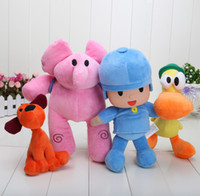Wholesale Large Pato Toy - Pocoyo Plush Doll Large Doll Lovely Pato Elly Loula Cartoon Figure Toys plush doll can choose