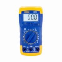 Wholesale digital current tester for sale - Group buy Factory Price DMM Digital Multimeter A830L Voltmeter Ohmmeter hFE Current Tester LCD Backlight Ammeter Multitester