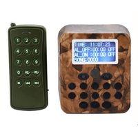 Wholesale outdoor songs - Outdoor Hunting Decoy Bird Caller Mp3 Player Bird Sound 3 Loudspeakers Amplifier Predator Wildlife Decoy with Remote Control 210 Bird Songs