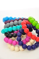 Wholesale Traditional Jewellery China - Silicone Teething Bracelet Jewellery Silicone Beads
