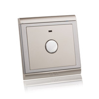 CE order lead time - AC V V Champagne Gold Panel Touch Switch Times Life Retardant Wall Delay Time Switch Light with LED Indicator order lt no trac