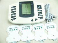 juguetes de bondage eléctrico al por mayor-Choque eléctrico Cuello digital Cintura de mamas Terapia corporal Masajeador Máquina Cuidado de la salud Gadgets Electro Choque BDSM Bondage Gear Juguetes sexuales JR-309