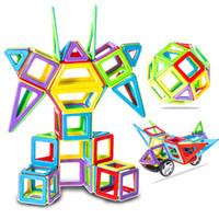 Wholesale 3d Set Models - Similar Magformers 52Pcs Set Magnetic Kids Toys Classic Models & Building Blocks 3D DIY Learning Education Toys Bricks Designer
