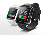 Wholesale Android Smartphone 4s - Bluetooth Smartwatch U8 U Watch Smart Watch Wrist Watches for iPhone 4 4S 5 5S Samsung S4 S5 Note 2 Note 3 HTC Android Phone Smartphone