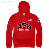 Wholesale Usa Casuals Wears - Men Dream USA Printed Hoodies Fleece Winter Warm Hooded Pullovers Long Sleeved Sports Casual Clothing Wear