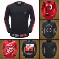 Wholesale Comfortable Cotton Hoodies - 2018 New fashion brand men PP hoodies and sweatshirts comfortable cotton men printed hoodies high quality hot sale