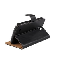 Wholesale I9295 Case - For Samsung Galaxy S4 Active Elegant i9295 Texture Genuine Wallet Leather Case Cover