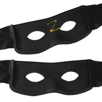 Wholesale Hip Hop Party Supplies Wholesale - Zorro Cool Black Hip-hop Mask Half Face Masquerade Party Mask Festival Gifts Halloween Cosplay Performance Props Christmas Supplies 50pcs