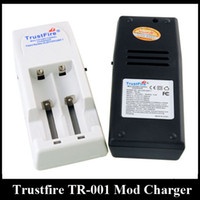 Top Quality TrustFire Battery Charger TR-001 Mod Charger caber 18650 18500 18350 17670 14500 10440 Lithium Battery E Cigarro Carregador de Bateria