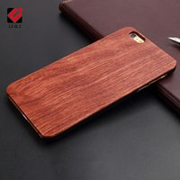 Wholesale Engraving Blanks - Bamboo Amazing Custom DIY Natural Blank Wood Cell Phone Case Laser Engrave YOUR OWN LOGO for iPhone 5 6S 6Plus 7 7Plus 8