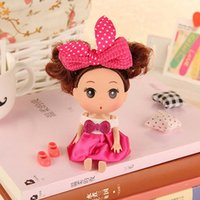 Wholesale Tall Toys For Kids - Tall Doll for Mini ddung ddgirl Dolls Fashion Popular Dolls Girl Dolls Kids toys Toys 12cm