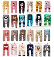 ingrosso gambali per bambini di busha-DHL 2016 nuovi bambini carino Toddler 36 disegni Busha PP Pants Scaldamani Leggings per bambini Pantaloni bambino Toddler Pants C287