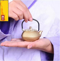 Cheap Mini iron kettle Cast iron teapot Small pot of gold Kung Fu tea sets Tea pet Variety of styles