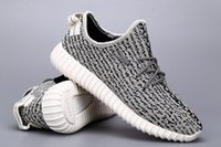 Wholesale Camping Supplies - 2018 Brand Kanye West Boost 350 Moonrock Original shoes Cheap Air 350 boost Turtle Dove Grey Classic Version Supply hot sale