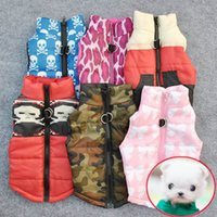 Vente en gros à prix réduits Pet Cat Dog Clothing Soft Padded Vest Harness Puppy Small Dog Coat Clothes Livraison gratuite