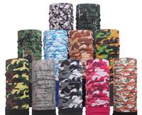 Wholesale Red Bandana Headband - Cheap Wholesale Men and Women Novelty Face Masks Headwear Sports Bandana Headbands Seamless Tube Masks