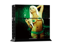 Wholesale Sexy Smoke - Sexy Smoking PS4 Decals PS4 Skin Vinyl Stickers 1 Console Skin+2 Controller Stickers