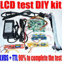 Wholesale Lvds Tft Lcd Controller - LCD Controller Board DIY Kit Support for more than 90% of DS + TTL specifications LCD Support the highest resolution order<$18no track
