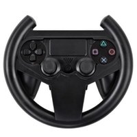 Wholesale Joypad Grips - Steering Racing Wheel Holder for Playstation Dualshock 4 PS4 Gaming Controller Joypad Hand Grip Compact Durable Retail Box Packaging