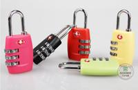 correas de equipaje cerraduras al por mayor-TSA Luggage Strap Locks Dígito Plástico Aleación Contraseña de Bloqueo Aduanas Equipaje Candado Combinación Maleta Candado Equipaje Travel Lock