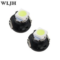 Wholesale Bulbs Dashboard - WLJH T3 T4.2 T4.7 LED Neo Wedge Switch Radio Climate Control Bulb Instrument Dashboard Dash Indicator Light Bulb Ac Panel Bulb